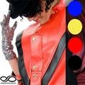 1Pair Michael Jackson Billie Jean Silver Sequin Glove For Party Dance Performance Props (Size:23*9cm)