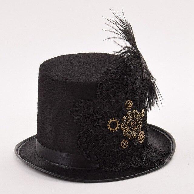 Шляпа с кружевом винтаж 1