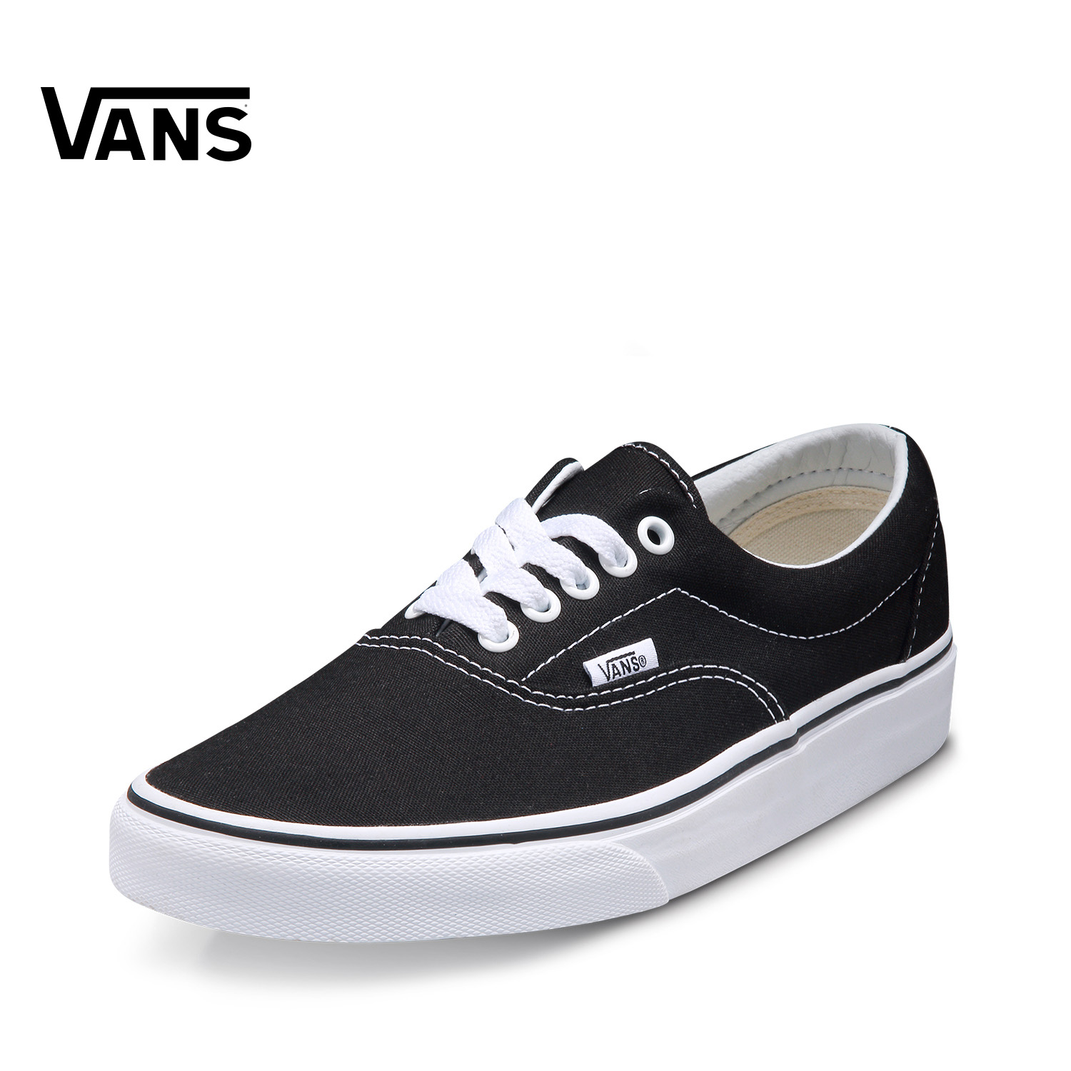 54342664b0 Original New Arrival Vans Mens   Womens Classic Low top Skateboarding Shoes  Sneakers Canvas Comfortable Era VN 0EWZBLK-in Skateboarding from Sports ...