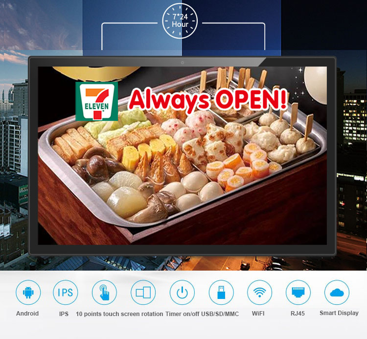 21.5 Inch IPS 1920*1080 Android All In One Pc/smart Kiosk/Interactive Touch Screen Display (wifi, RJ45, Bluetooth, HDMI Out,usb)