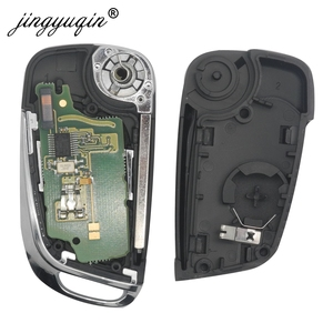 Image 3 - Jingyuqin 2/3 кнопочный модифицированный флип ключ для Peugeot Partner 307 308 407 408 3008 ASK/FSK 433 МГц PCF7961 HU83/VA2 CE0536