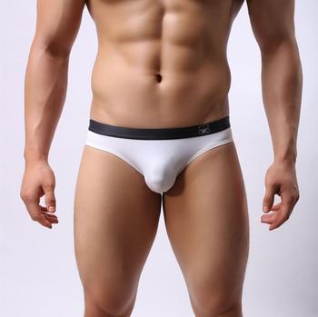 Marca Brave Person hombres gay ropa interior Sexy calzoncillos de cintura baja Ropa interior Calzoncillos para hombres Nylon hombres Bikini sólido Briefs