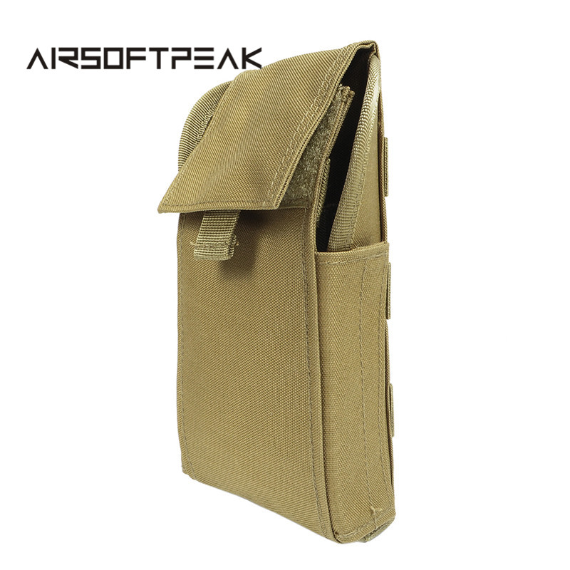 AIRSOFTPEAK Hunting Ammo Bag Molle 25 Round 12 Gauge Magazine Pouches Ammo Shells Shotgun Reload Folded Magazine Bag