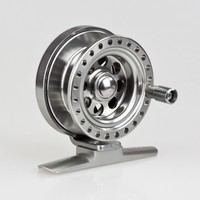 High Quality All Metal Aluminum Fly Fishing Wheel Sea Fish Reel Durable Clever Free Shipping