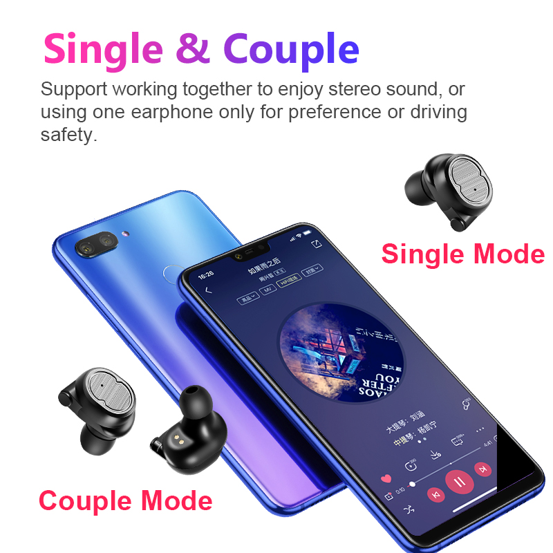 SANLEPUS TWS 5 0 Wireless Headphones Bluetooth Earphones Sports Earbuds  Stereo Headset Handsfree