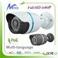 Good Night Vision Effection POE Security Camera IP Full HD 1080P 2MP Megapixel camaras de seguridad ip Cam waterproof