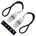 2 шт./лот  ночник  сигнальный свет для ныряния  для занятий спортом на открытом воздухе  теплый стробоскоп  5 цветов  подводный аварийный свето...