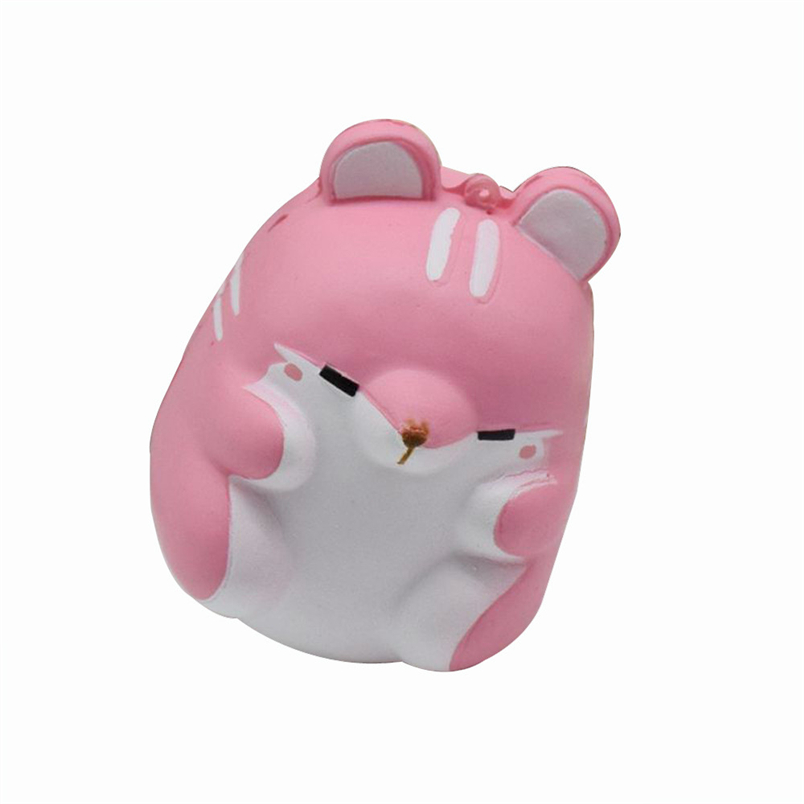 Hiinst squishy Fun Hamster Decor 2017 Slow Rising Kid Toy Squeeze Relieve Anxiet Gift*R squeeze toy Drop