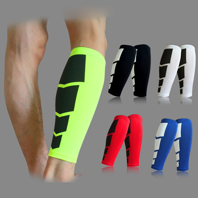 hot sales ac149 0ae68 1 PSC Shin Guard Basketball Football Protective Leg Calf Compression Sleeves  Cycling Running Leg Warmer Sports Safety Shinguard