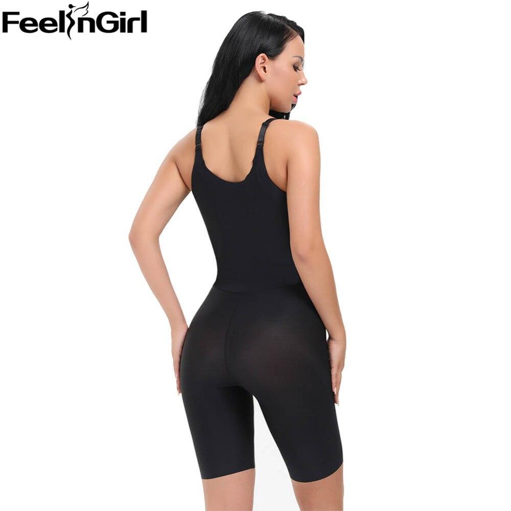 9a9f8f9b57b FeelinGirl Tummy Control Underbust Slimming Underwear Shapewear Body Shaper  Control Waist Cincher Firm Bodysuits fajas Shapers C-in Bodysuits from  Underwear ...