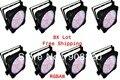 8X lot Free Shipping HOT 198pcs*10MM RGBAW 5in1 LED Par Can,LED Par Light,Pro Lighting,American DJ Light