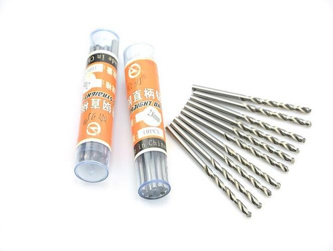 10PCS High Quality HSS Straight Shank Twist Drill 0.3-3.5 Mm Walnut Vajra Bodhi Pearl Beads Punch Tiny Little Bit