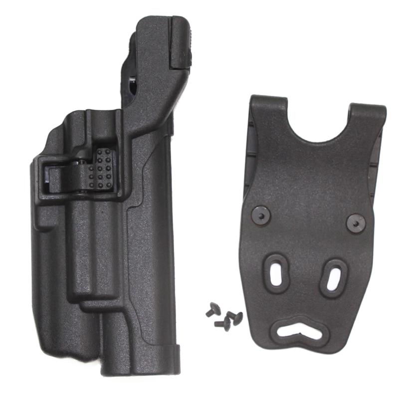 ᑐTactical holster Colt 1911 al aire libre Caza airsoft cinturón ...
