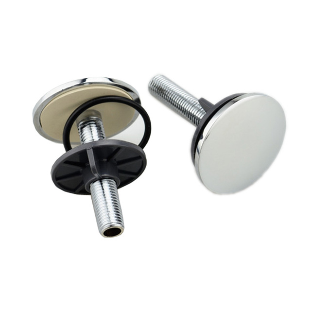Attirant Stainless Sink Stopper Plug Parts Decorative Overflow Cover Bathtub Kitchen  Bathroom Drain Water Plug Bath Stopper