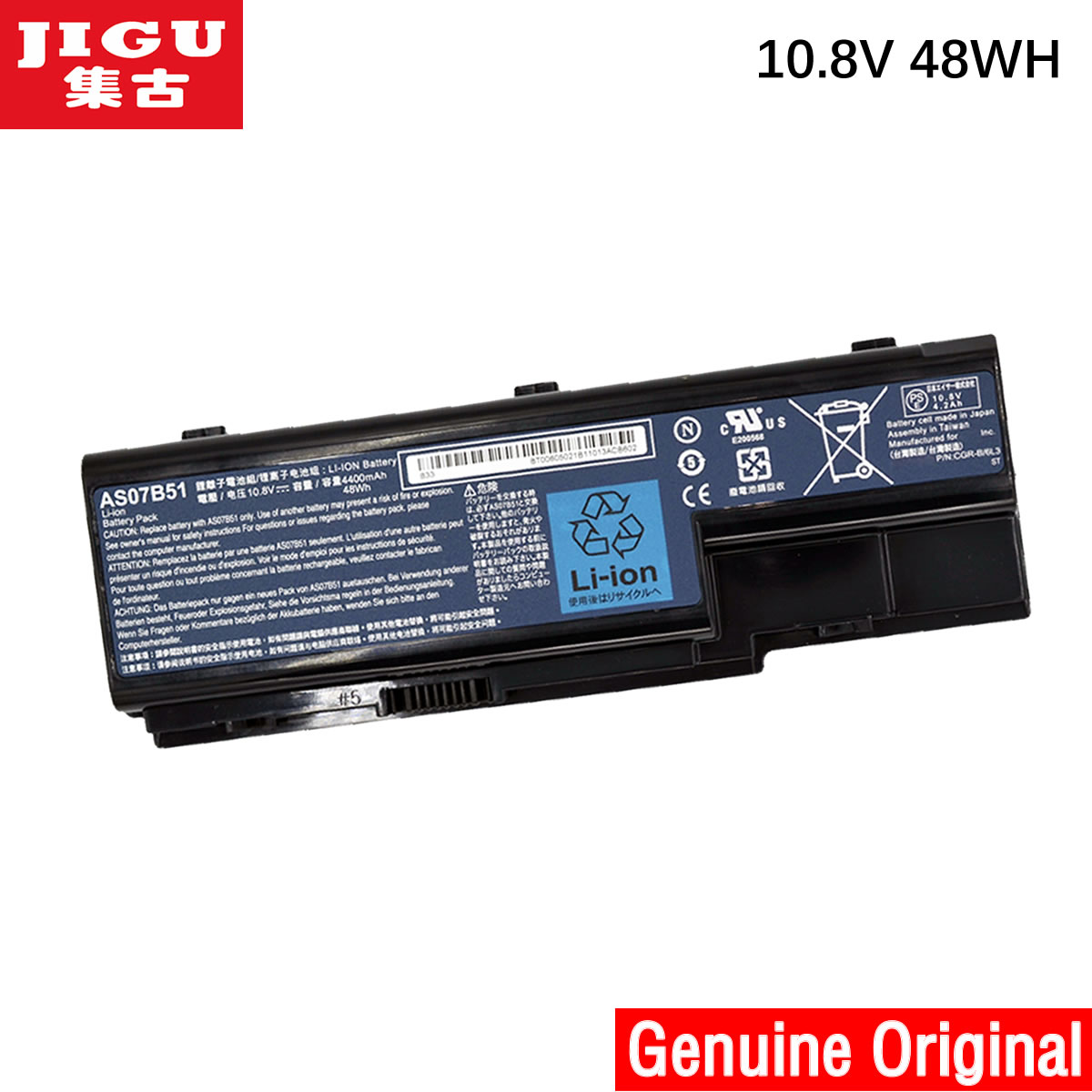 Jigu Original Laptop Battery For Acer Aspire 5710 5710g
