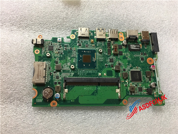 Original FOR Acer Aspire Es1-111m LAPTOPl Motherboard DA0ZHKMB6C0 Nbmrk11001 fully tested original for acer aspire es1 111m laptopl motherboard da0zhkmb6c0 nbmrk11001 fully tested