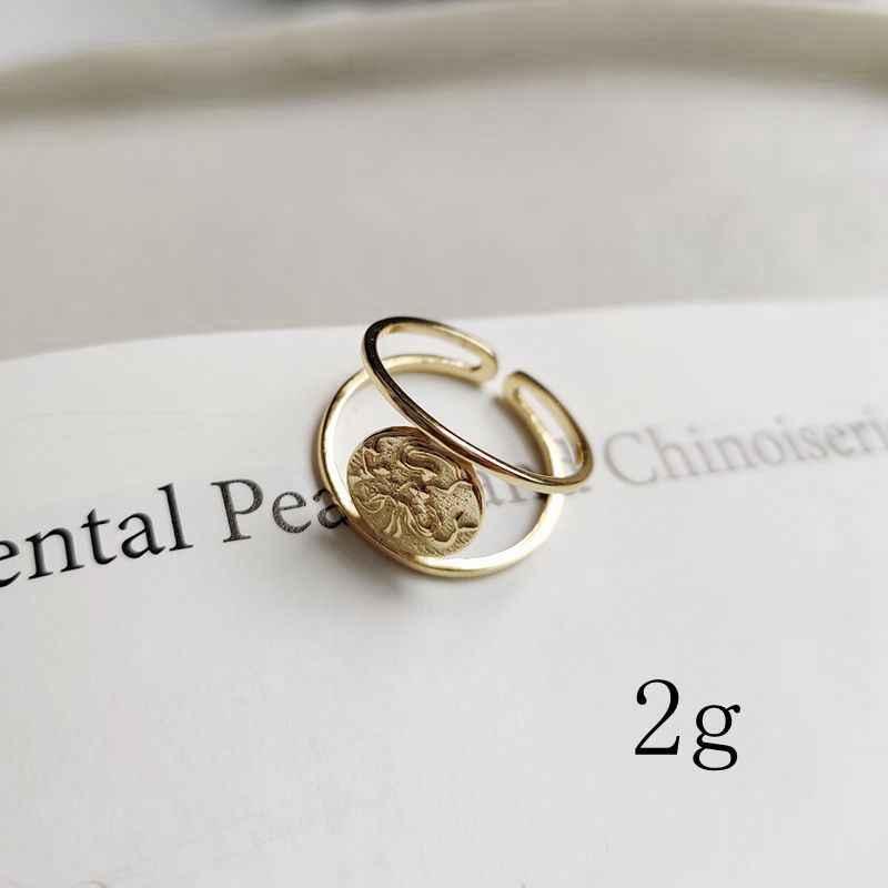 Silvology 925 prata esterlina sereia anéis de ouro redondo longo cabelo criativo elegante anéis para as mulheres moda jóias charme presente