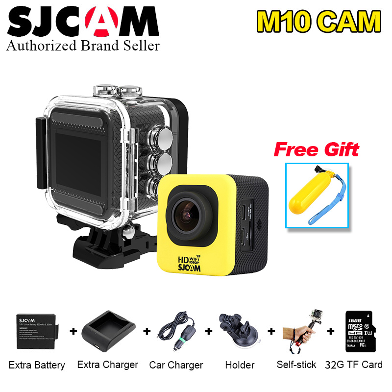 SJCAM M10 Series M10WIFI Full HD Mini Action Camera hdmi Helmet camera Car Dash waterproof Camcorder 1080P Sport DV Connector