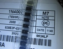 лучшая цена Free Shipping 5000PCS/Lots New and original 1N4007 IN4007 M7 SMD rectifier diode SMA
