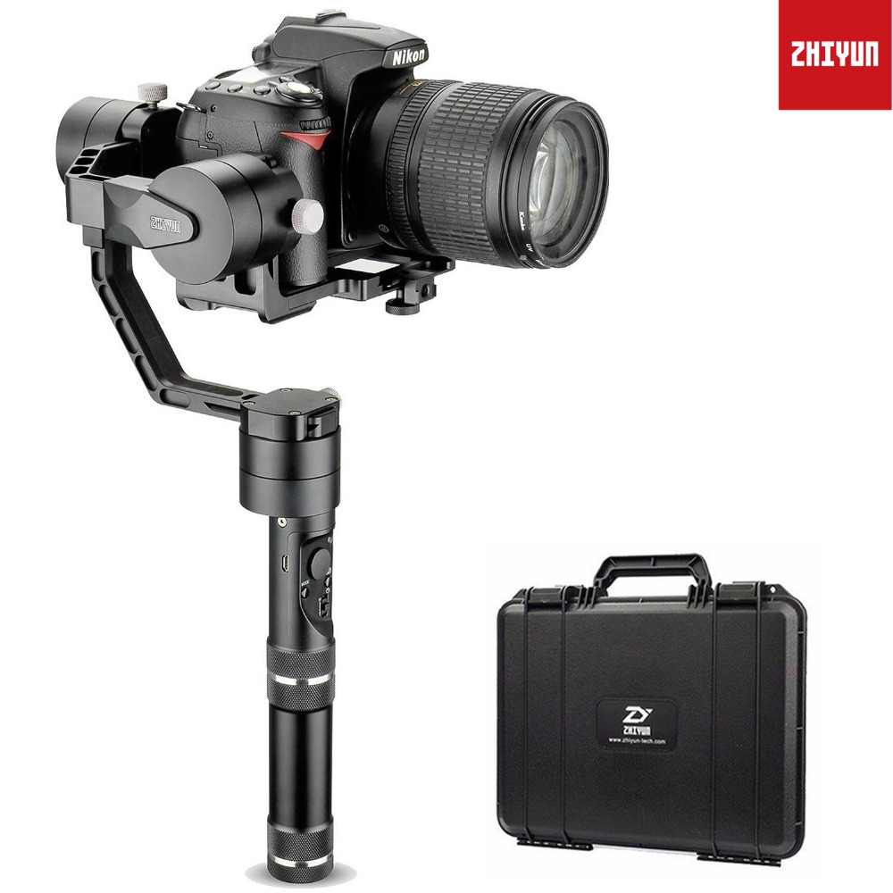 Zhiyun Crane V2 3 Axis Handheld Gimbal Stabilizer for Sony a7,Panasonic LUMIX,Nikon Js,Canon M Series Mirrorless and DSLR Camera