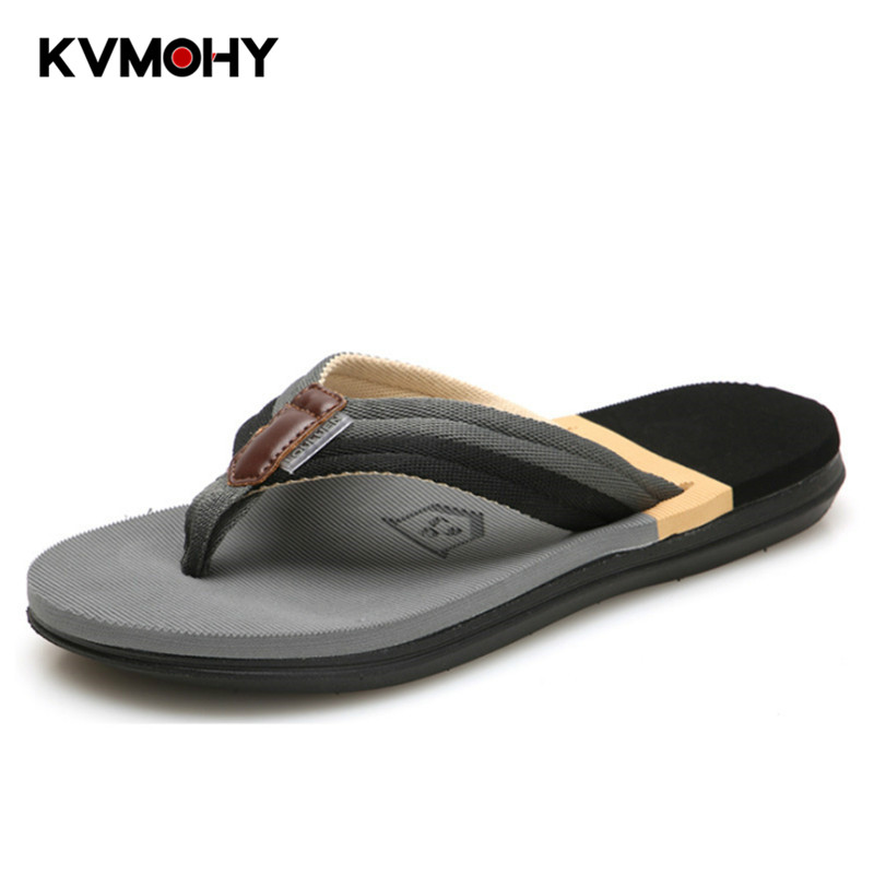 Flip Flops Men Shoes Summer Fashion Mens Slippers Korean Non-slip Slides Personality Beach Flip-flop  Mens House Shoes