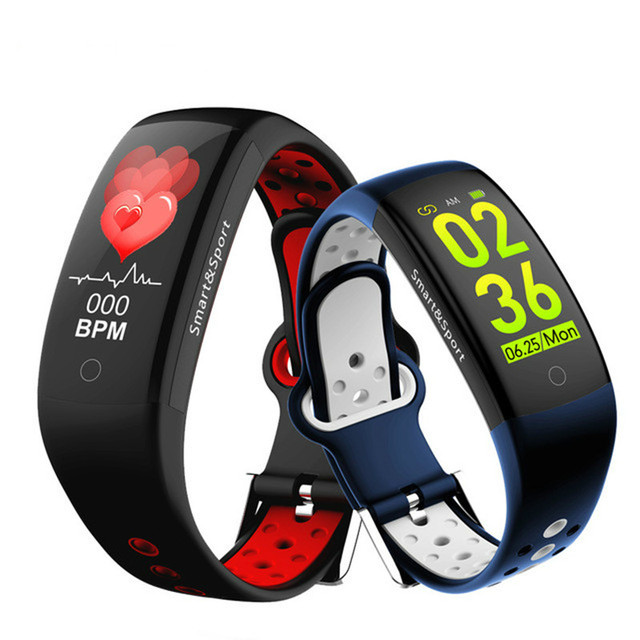 New Touch Screen Smart bracelet Blood Pressure Heart rate Pulse Bluetooth Smart