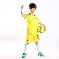 Nuevo personalizado 2018 verano niños muchacho Fútbol equipo entrenamiento deportes Camisas y Pantalones cortos Jersey uniforme