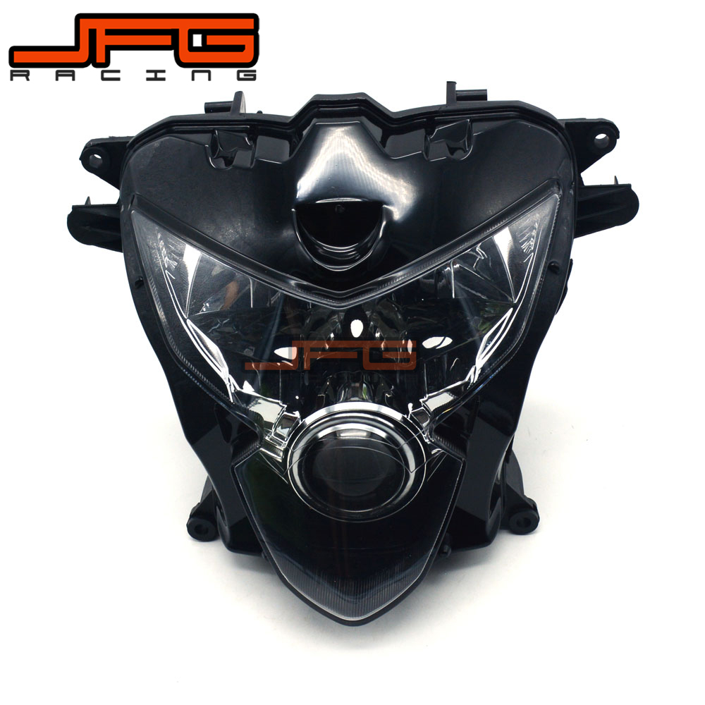 Clear Front Headlight Headlamp Street Fighter for Suzuki GSXR600 GSXR750 GSXR 600 750 2004-2005 2004 2005 K4 for suzuki gsxr600 gsxr750 gsxr 600 750 k4 tank side cover panels fairing 2004 2005 2pcs carbon fiber motorcycle parts