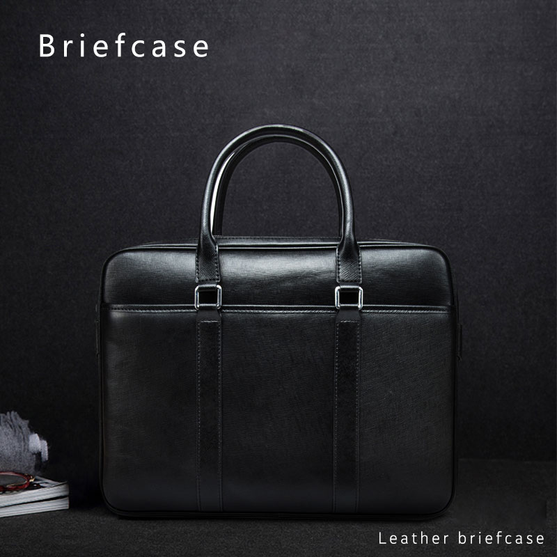 Genuine Leather Laptop Briefcase 13.3 14 Inch Computer Bag for MacBook Pro 13 Air 13 Waterproof Handbag for Dell Notebook Bag 14 hot ladies handbag for laptop 14 for macbook air pro retina 13 3 13 14 1 notebook lady bag women purse free drop shipping