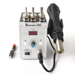 Image 5 - Soldering Hot Air Gun 858D 220V 110V 700W Adjustable Digital Display Heat Gun BGA SMD Rework Solder Station