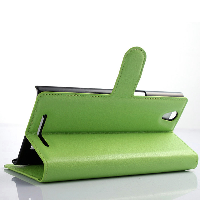Effelon Luxury High Quality flip leather case cover For ZTE ZMax Z970 Flip Leather Case For ZTE Z970 Card Holder Case