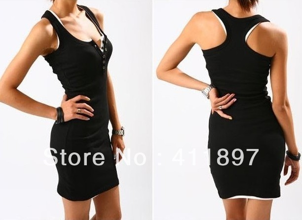 2013 New Fashion Holiday Sale / Women's Sexy Summer Dress / Candy Colors / Polyester / Sleeveless/Vest/Tank tops HOT SALE!