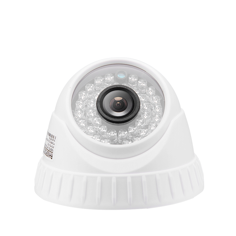 GREEN VISION Vandal Proof HD Camera Metal Shell,White 150 degrees wide angle
