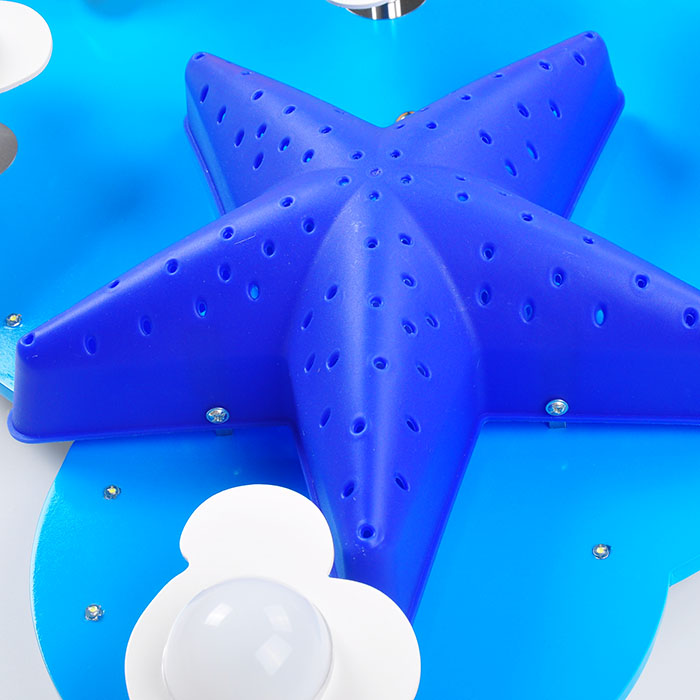 Star Moon LED Children lamp Childrens room ceiling light Creative protection cartoon boys / girls bedroom ceiling lamps ZA