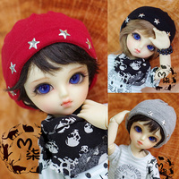 M7 BJD Dol 1 4 1 6l Accessories Mini Knitted Hats Photography Tool 3 Colors