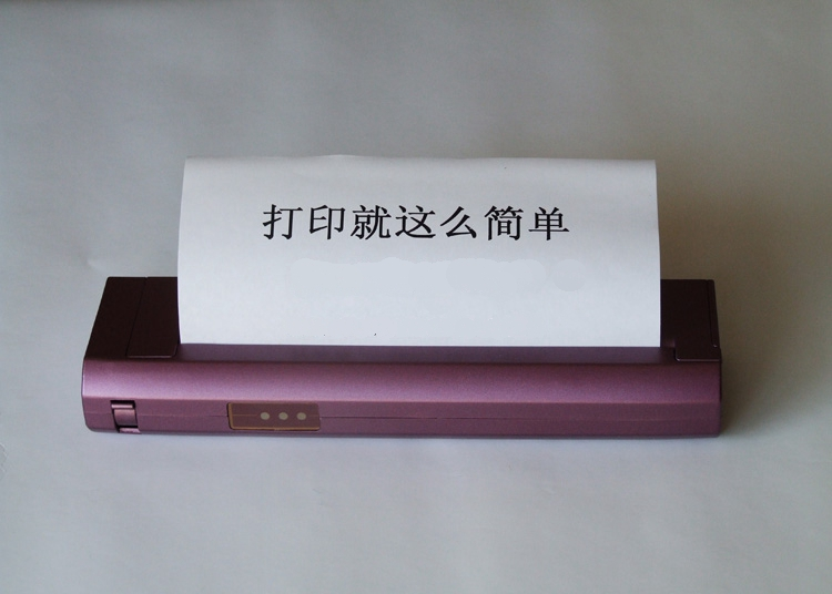 A4 papier tragbare drucker Mini thermische drucker Bluetooth & USB verbindung ohne patronen Tattoo print tattoo drucker GWP-80P