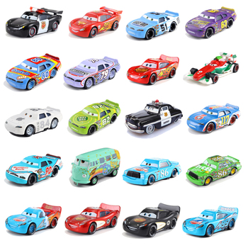 Disney Pixar Cars 2 3 Jackson Storm Mater 1:55 Diecast Metal Alloy Model Cars 3 Christmas Gift Toys For Childrens image