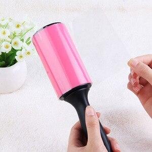 Image 4 - Rouleau de collage de charpie de nettoyeur de poussière de rouleau lavable réutilisable pour des vêtements