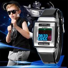 2017 новый детский электронные часы мода Высокое качество мужчины и женщины спортивные часы Модные Аксессуары
