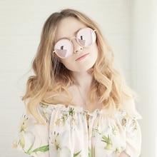 GYsnail 2018 fashion round sunglasses women brand designer vintage classic ladies sun glasses for female oculos de sol goggles