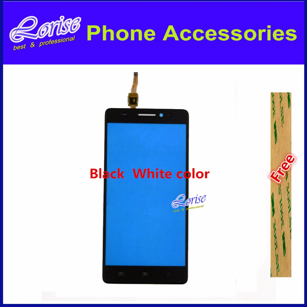 5PCS 5.5inch For Lenovo A7000 K3 Note K50-t5 Touch Screen Digitizer Glass Panel Lens Sensor Front Glass + Free 3M Sticker