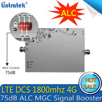 Lintratek 4G GSM LTE 1800mhz Gain 75dB Signal Booster (Band 3) DCS LTE 1800mhz Cell Phone MGC/AGC Amplifier Repetidor