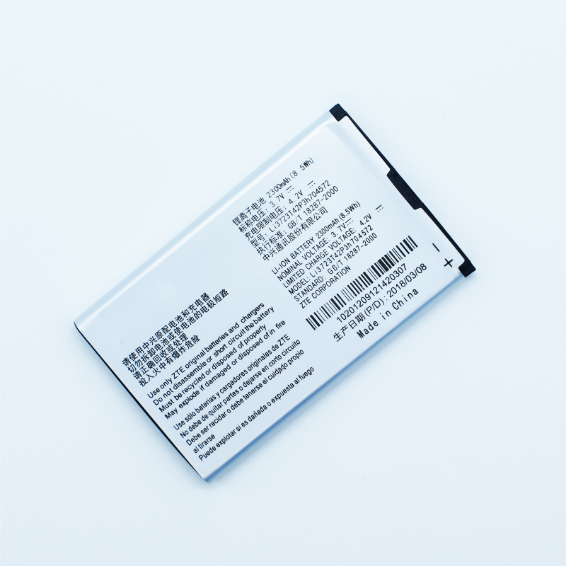 Hekiy High Qaulity New Li3723T42P3h704572 <font><b>Battery</b></font> For <font><b>ZTE</b></font> MF90M MF91 <font><b>MF90</b></font> 4G WIFI Router <font><b>battery</b></font> 3.7V 2300mAh image