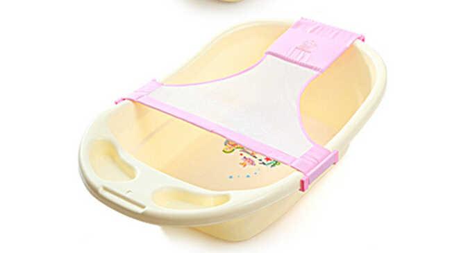 الرضع سلامة الأمن دعم استحمام الطفل الوليد حوص استحمام للأطفال مقعد قابل للتعديل حوص استحمام للأطفال خواتم صافي الأطفال حوض