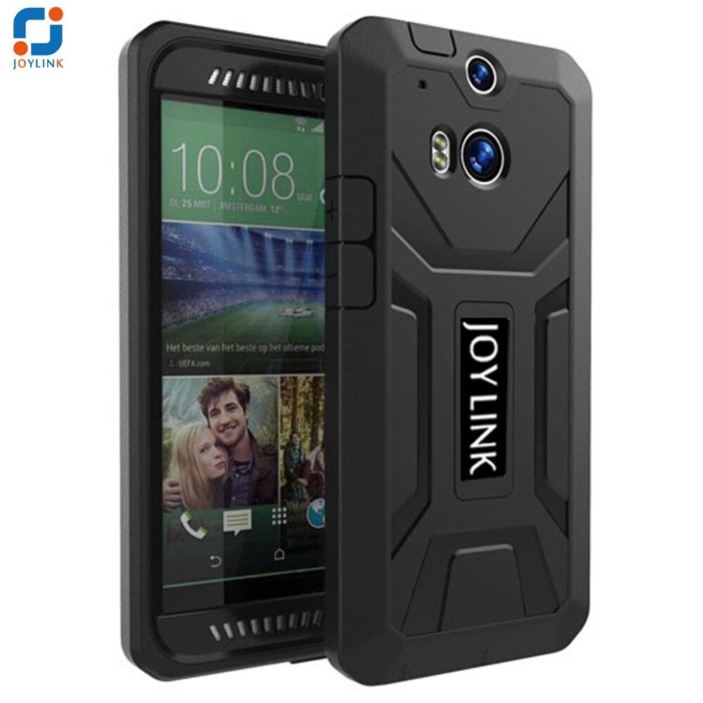 Joylink Defender Armor caso protector para HTC uno M8/M8S, doble Capa resistente híbrido cubierta del teléfono móvil para HTC uno M8/M8S