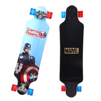 89*19cm Chinese Noth Maple Professional Skateboard Road Longboard Skate Board 4 Wheel Downhill Street Long Board