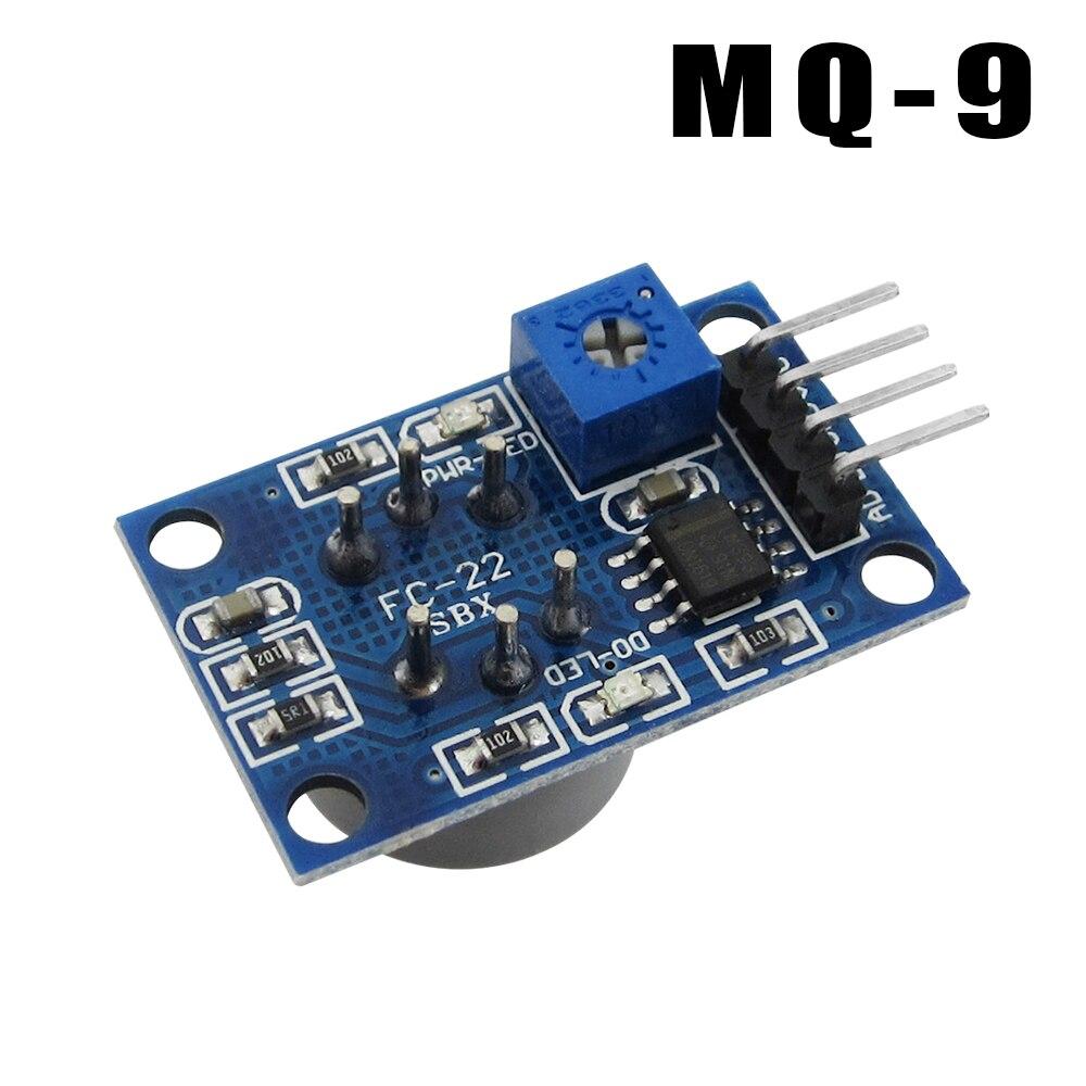 HAILANGNIAO 10PCS MQ-9 carbon monoxide module combustible gas sensor detection alarm module