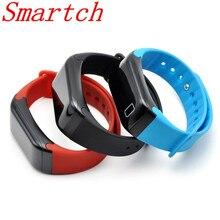 Smartch Смарт Браслет F1 крови oressure часы Фитнес трекер сердечного ритма Мониторы smartband для Android IOS Телефон