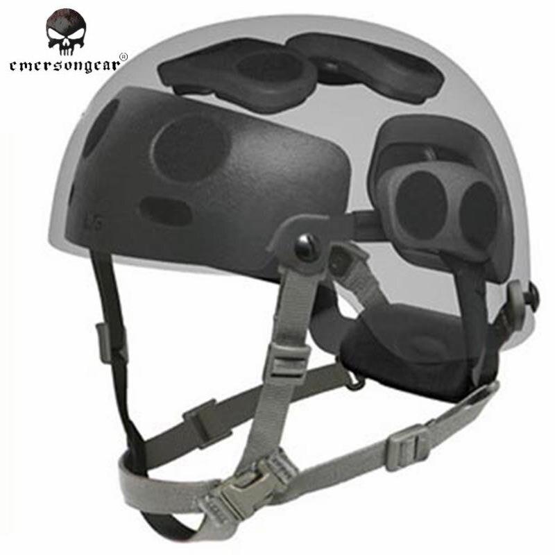 ФОТО Emerson Helmet Hanging System for BJ/PJ/MICH Helmet Military Helmet Dial Liner Kit FAST Helmet Hanging System EM5671 #