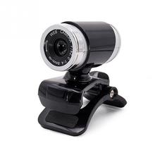 HD 12 Megapixels USB 2.0 Webcam Camera with MIC Clip-on for Computer PC Laptops Drop Shipping #0612